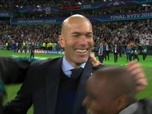 Le triomphe du Real Madrid - Ligue champions - fin du match - triomphe du real madrid